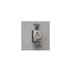 8311-WH 15 Amp Single Receptacle White (CASE)