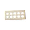 8535- 5 Gang Receptacle Plate  (CASE)