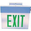 Edge-Light Exit Signs