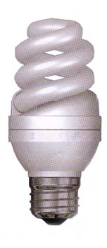 Mini Spiral Compact Fluorescent Bulb Energy Saving CFL